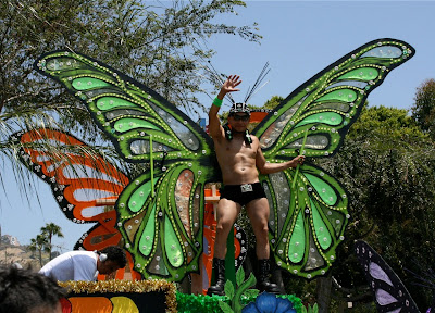 Butterfly Boy LA gay Pride 2010