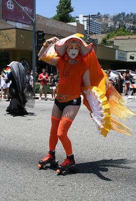 Rollerskating Sister of Perpetual Indulgence WEHO Pride 2010