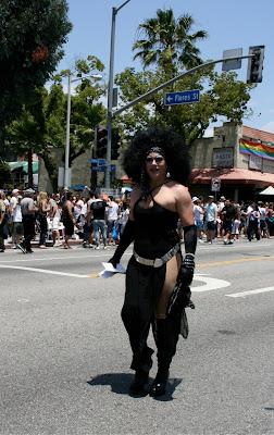 West Hollywood Gay Pride 2010 Drag Queen