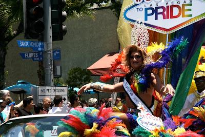 Diva Delafeu West Hollywood Gay Pride 2010
