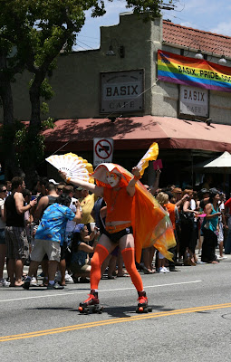 Sister of Perpetual Indulgence skater LA Pride 2010