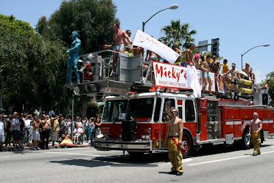 LA Pride 2010 Micky's fire truck