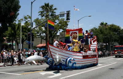 Pride 365 Parade float LA 2010