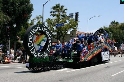 LA Gay Pride float 2010