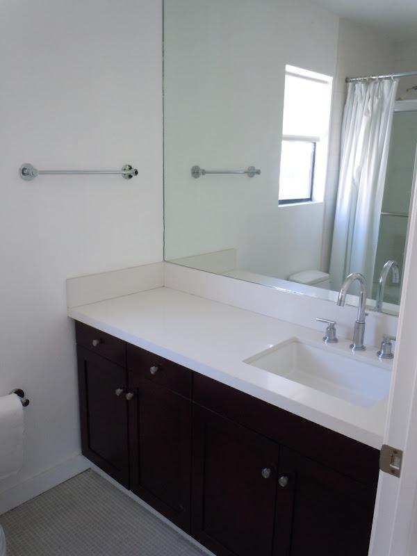 West Hollywood condo bathroom