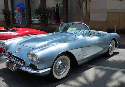 1958 Chevrolet Corvette Gilmore Auto Show