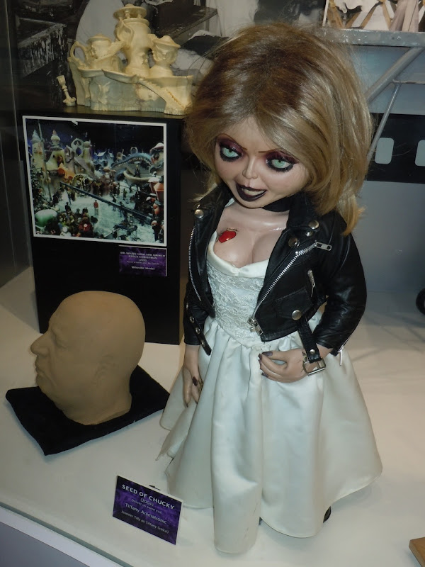 Tiffany animatronic Seed of Chucky movie prop