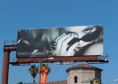 Madonna Dolce & Gabanna sunglasses billboard