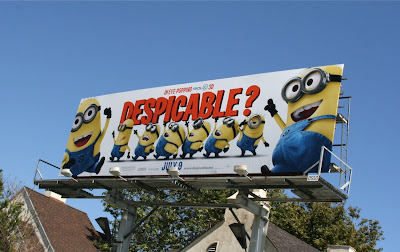 Despicable Me billboard