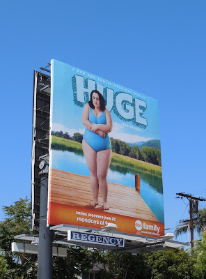 Huge TV billboard
