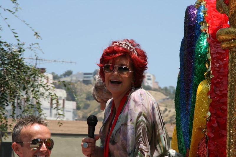 Sharon Osbourne LA Pride June 2010