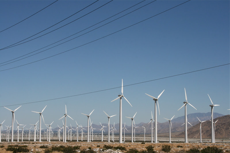Palm Springs windmill farm