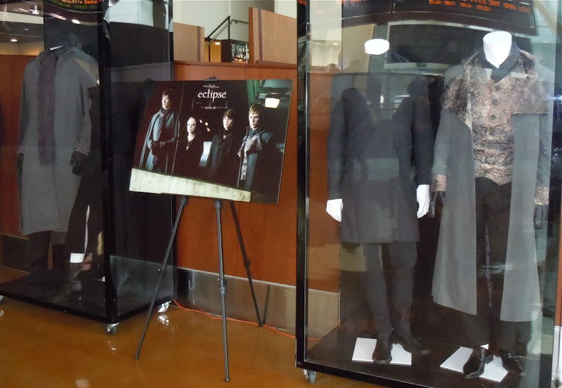 Original Twilight Eclipse Volturi movie costumes