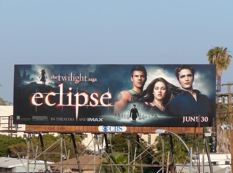 Twilight Eclipse billboard