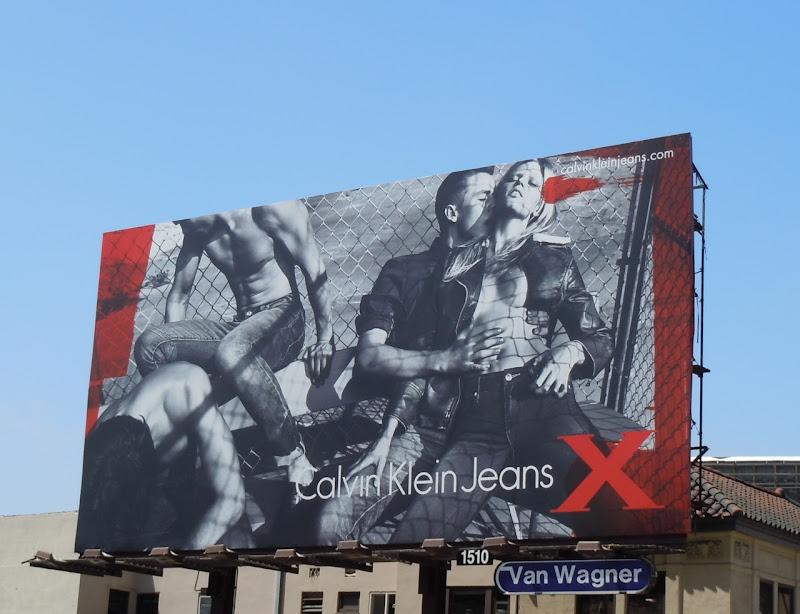 Calvin Klein Jeans X billboard
