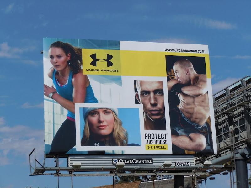 Under Armour billboard