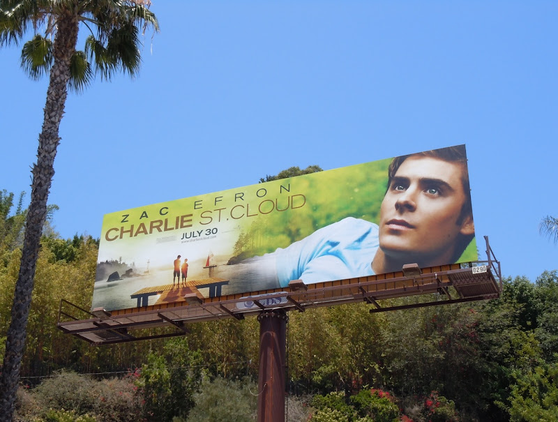 Zac Efron Charlie St Cloud billboard