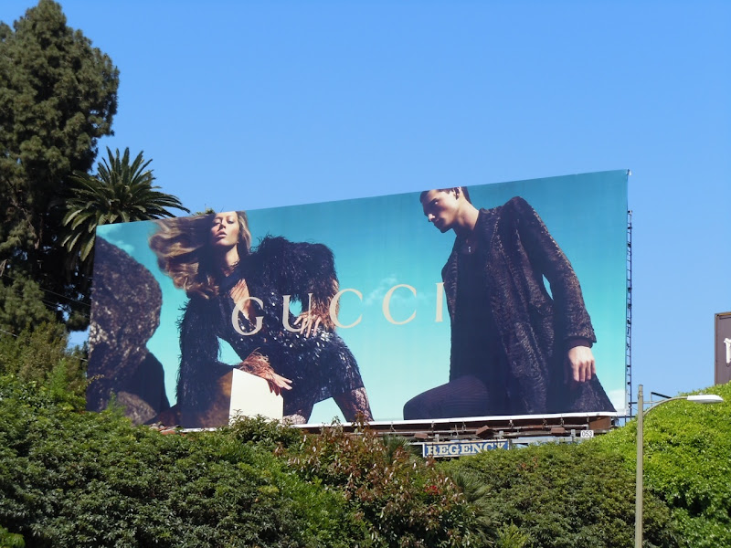 Gucci July 2010 fashion billboard