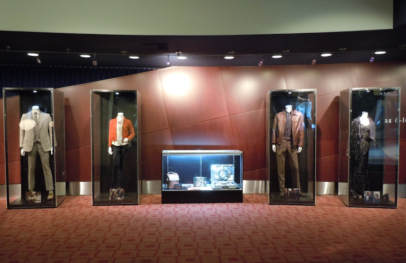 Inception movie costume and prop display