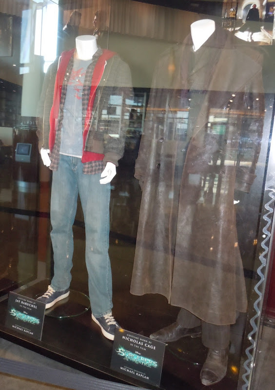 The Sorcerer's Apprentice Dave and Balthazar costumes