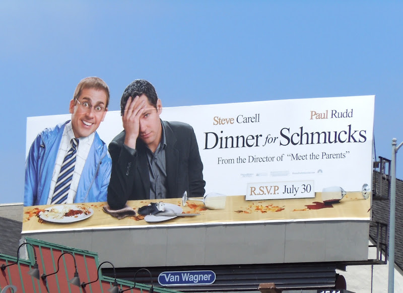 Dinner for Schmucks movie billboard