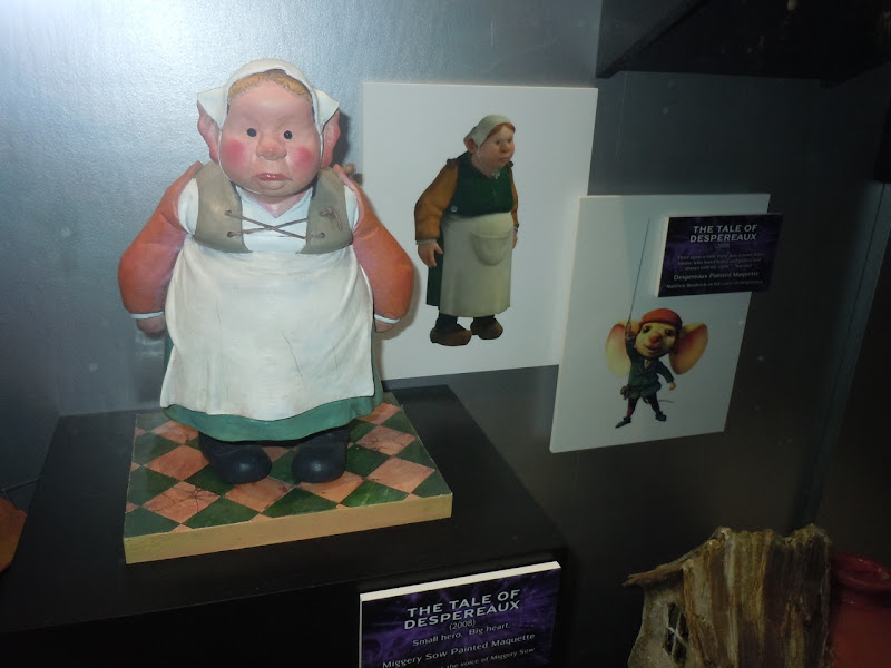 The Tale of Despereaux Miggery Sow maquette