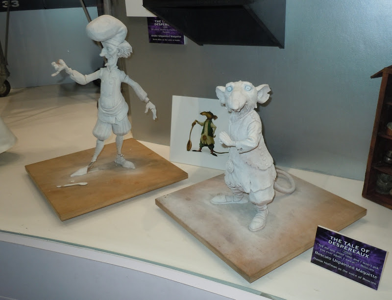 The Tale of Despereaux unpainted maquettes