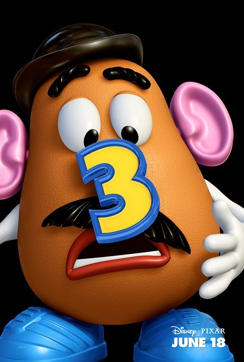 Mr Potato Head Toy Story 3 poster