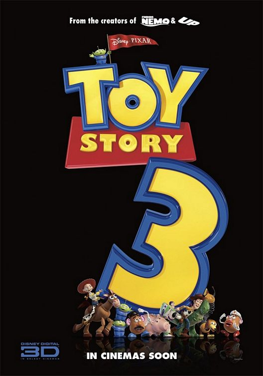 Toy Story 3 teaser poster