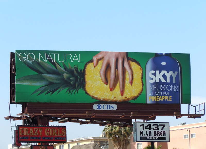 Skyy Infusions Pineapple Vodka billboard