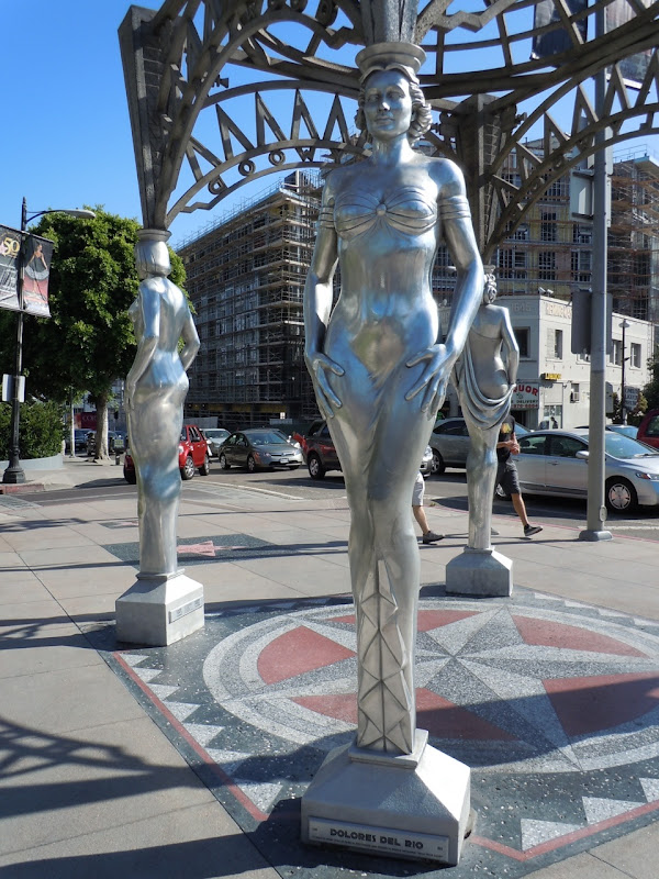 Dolores Del Rio Silver Hollywood statue