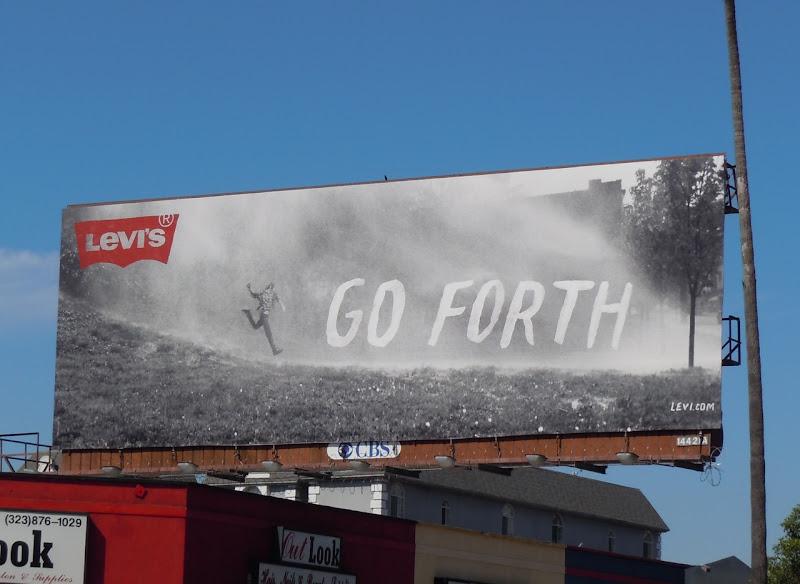 Levi's Go Forth billboard