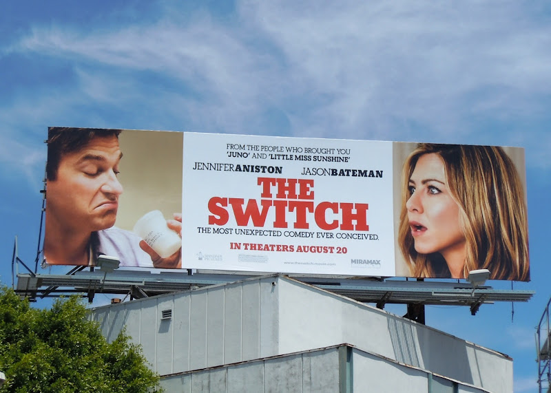 The Switch movie billboard