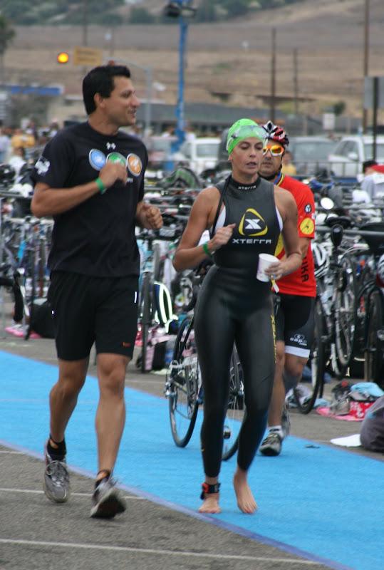 Teri Hatcher wetsuit Malibu Triathlon 09
