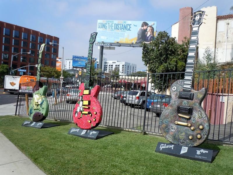 Guitartown Sunset Strip August 2010