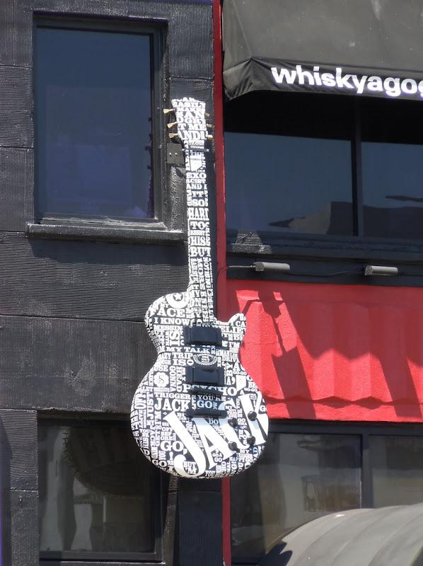 Jack Daniels giant guitar Sunset Strip