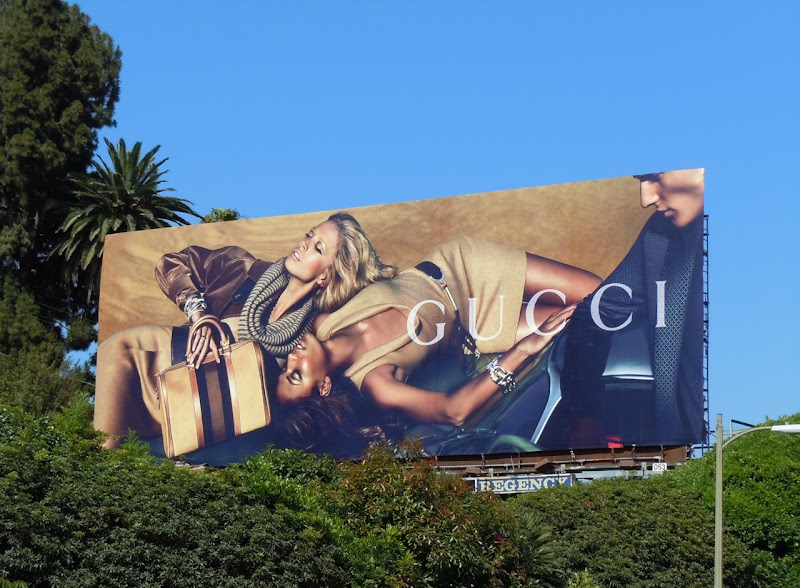Gucci August 2010 fashion billboard