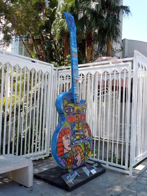 Mystic Musicians Guitar Sunset Strip