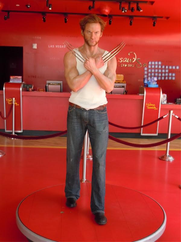 Hugh Jackman's Wolverine Madame Tussauds waxwork