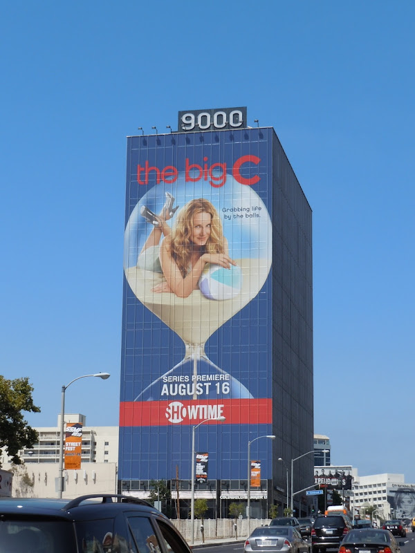 The Big C Laura Linney TV billboard