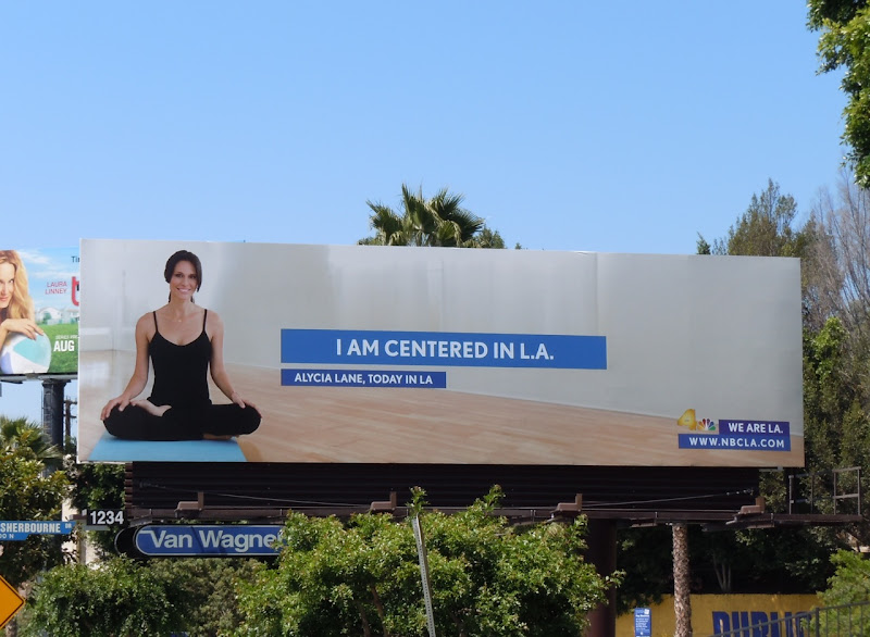 Centered in LA billboard