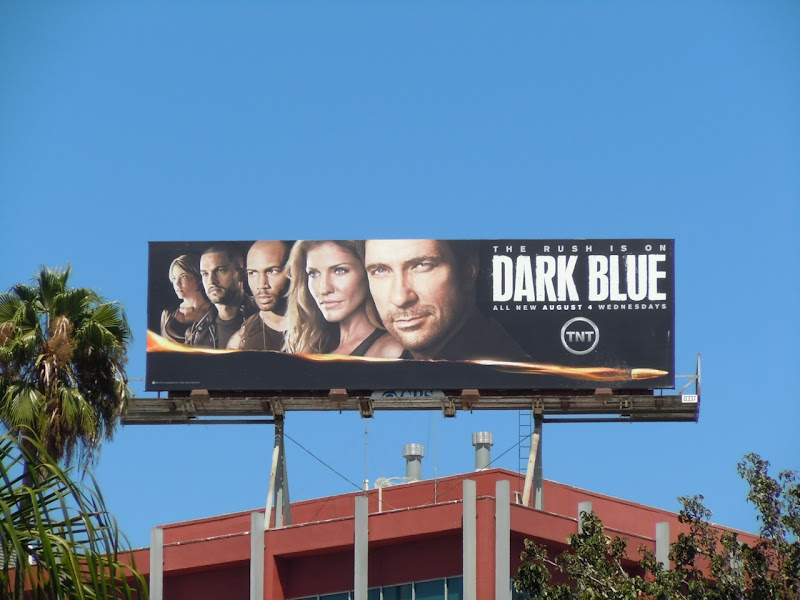 Dark Blue season 2 TV billboard