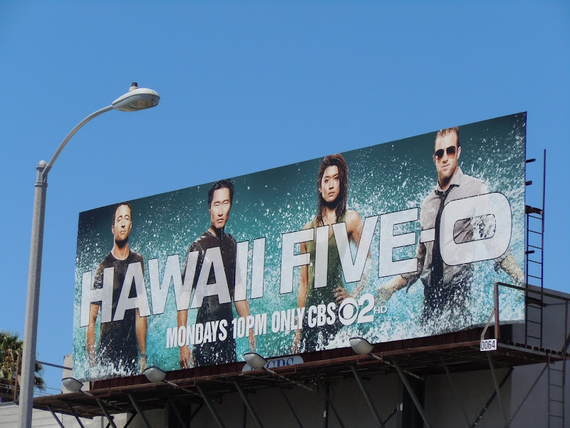 Hawaii Five-O TV remake billboard