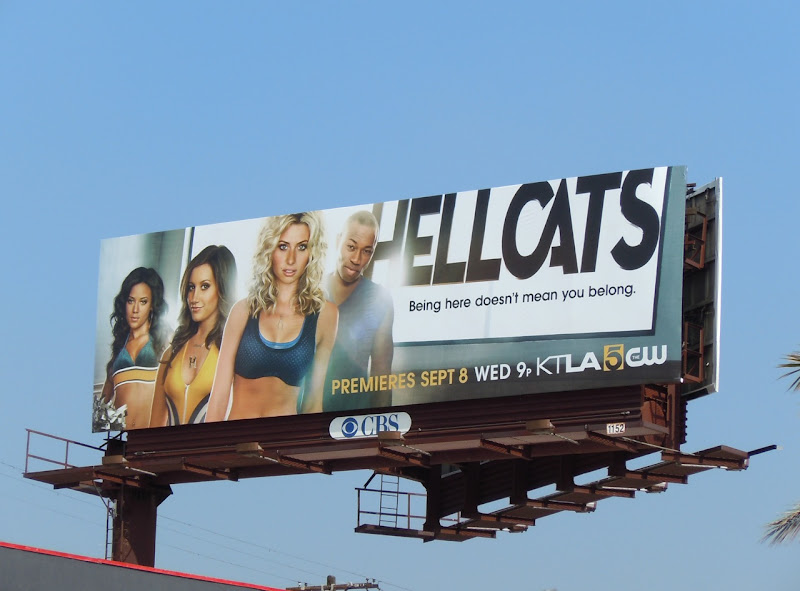 Hellcats TV billboard