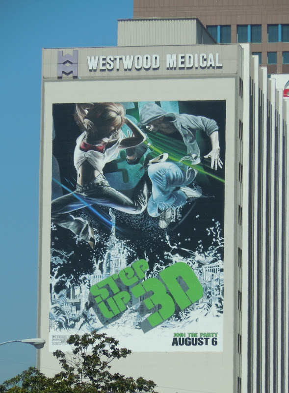 Step Up 3D film billboard