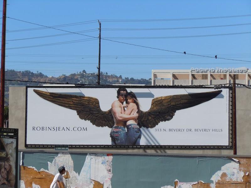 Robins Jean angel billboard