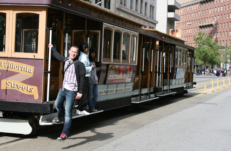 Jason's San Francisco tram