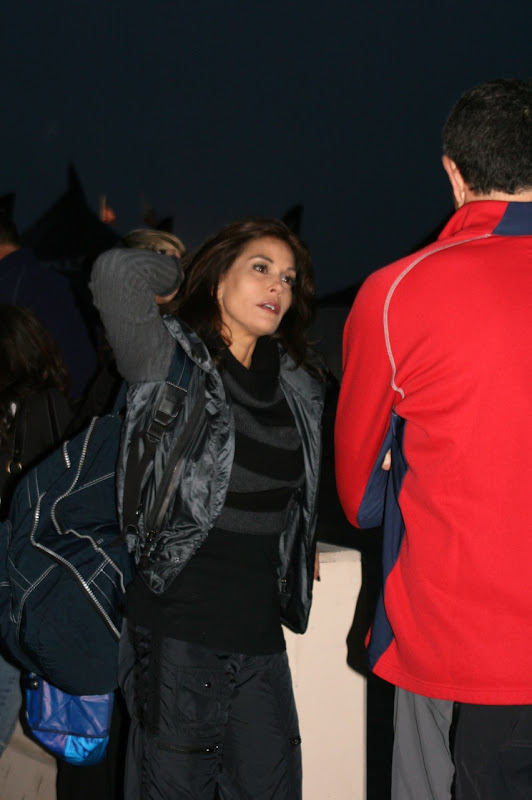 Teri Hatcher before Nautica Triathlon 2010