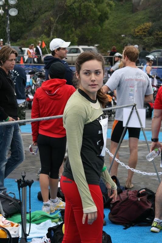 Megan Boone Malibu Triathlon 2010