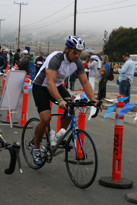 Cristian de la Fuente Malibu Triathlon 2010